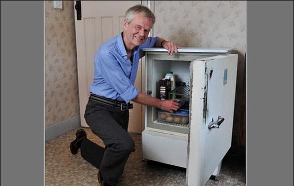 ماجرای یخچال 56 سالهای که هنوز خراب نشده !