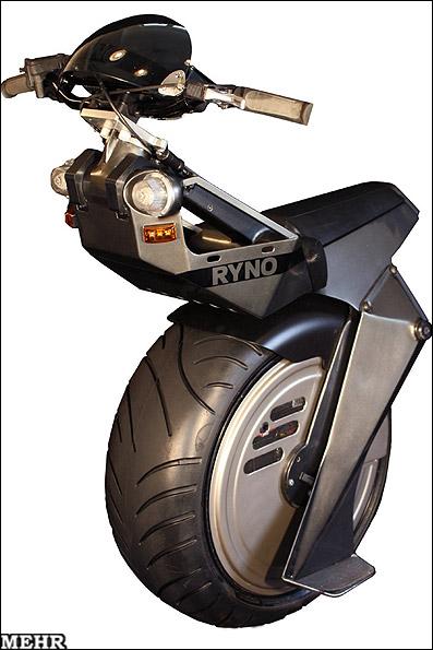 ساخت یک موتور سیکلت تک چرخ