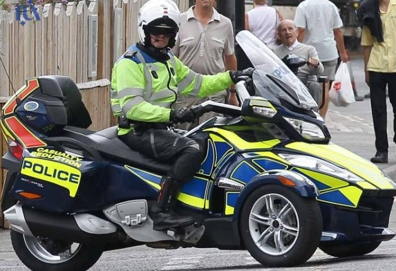 موتور سیکلتهای جدید و عجیب پلیس لندن!