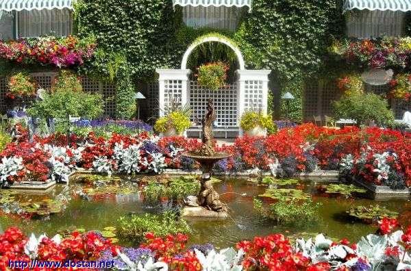 عکس هایی از زیباترین باغ جهان