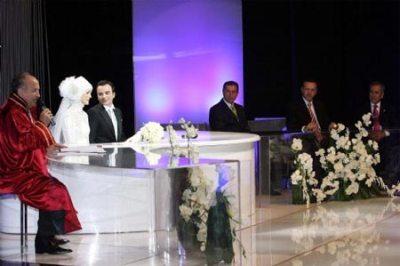 عکسهای مراسم عقد دختر رئیس جمهور ترکیه!