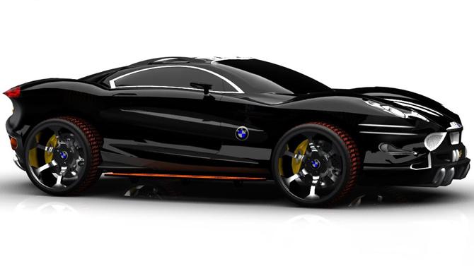 عکسهای اتومبیل فوق مدرن BMW X9 Concept