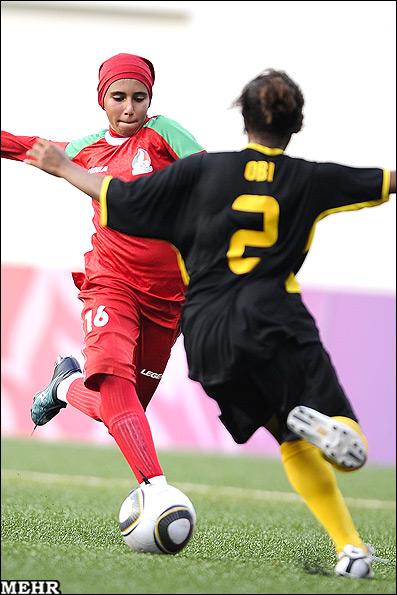 عکسهای تیم ملی فوتبال بانوان ایران