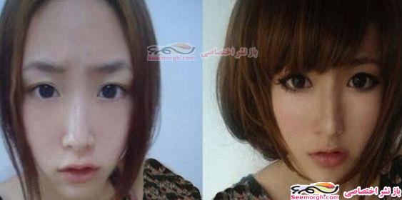 دختران زشتی که آرایش آنها را متحول کرده!