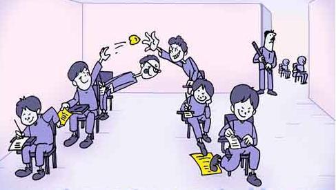 پسرها و تقلب در امتحان (طنز)