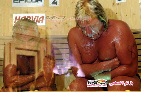 قهرمان روسیه در حمام سونا پخته شد و مرد!!