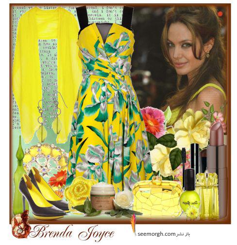 ست کردن لباس به شیوه انجلینا جولی!(تصویری)