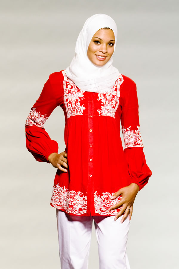 جدید ترین مدل های لباس زنانه اسلامی 2011