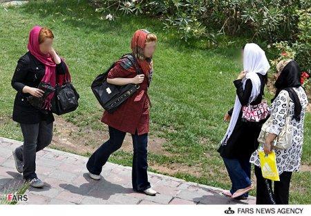 عکس هایی از بد حجابی زنان و دختران در تهران