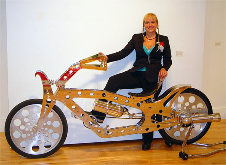 عکس هایی دیدنی از دوچرخه های عجیب و غریب
