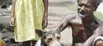 ازدواج اجباری دخترک 9 ساله هندی با یک سگ