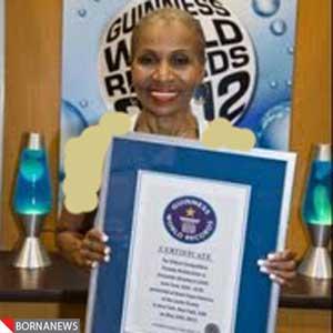 پیر ترین زن بدنساز جهان با 75 سال سن + عکس