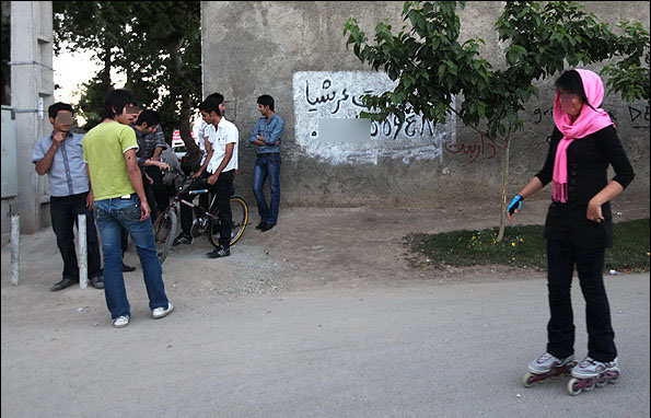 عکس هایی از ظاهر زشت و افراطی پسران ایرانی