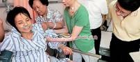 خارج کردن غده 25 کیلویی زنی با چاقوی آشپزخانه