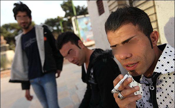 عکس هایی از ظاهر زشت و افراطی پسران ایرانی / www.irannaz.com