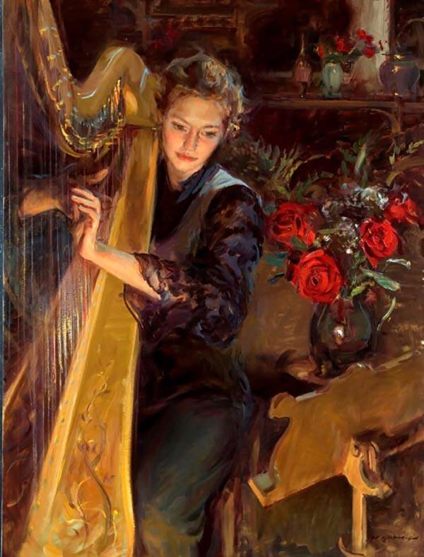 نقاشیهای رومانتیک و عاشقانه از Daniel F.Gerhartz kocholo.org - سایت کوچولو