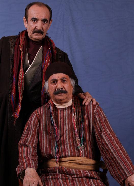 عکس های دیدنی از بازیگران قهوه تلخ از نمای نزدیک