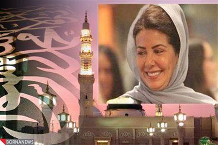 جنجال آفرینی ظاهر عادله دختر پادشاه عربستان