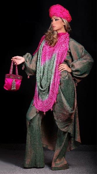جدیدترین مدل های لباس زنانه عربی 2011