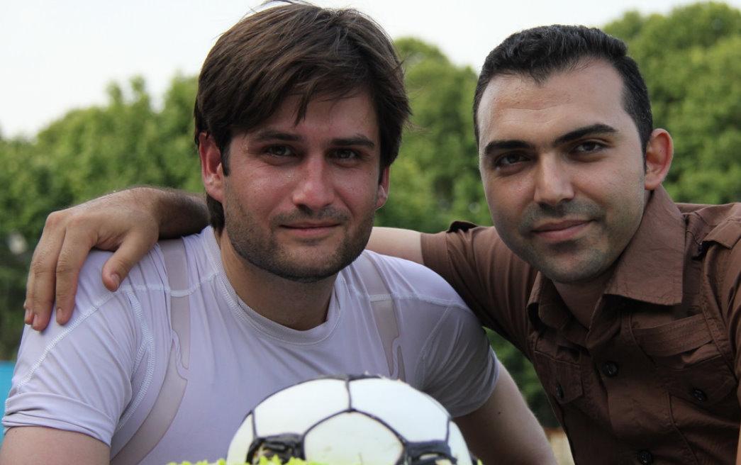 عکس هایی از بازیگران سینما و تلویزیون در تیم فوتبال