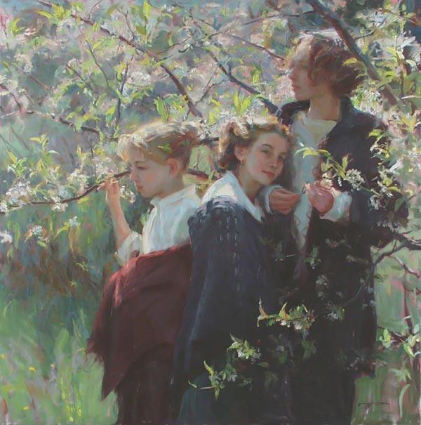 نقاشیهای زیبا و عاشقانه اثر Daniel F.Gerhartz