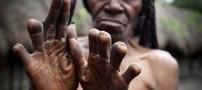 سنت بسیار وحشتناک قبیله ای نسبت به زنان+عکس