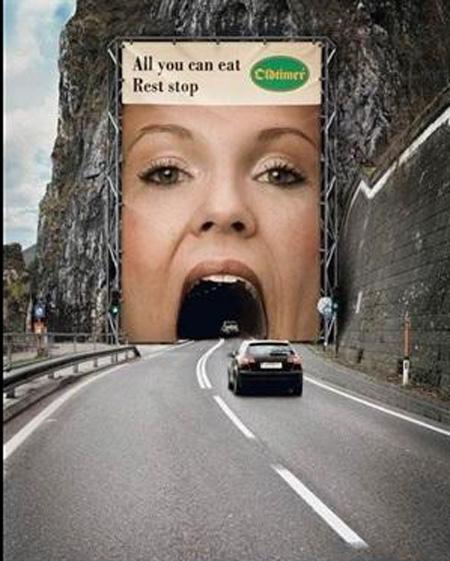 عکس هایی جالب از تبلیغات عجیب و غریب
