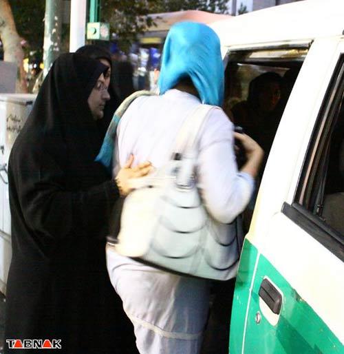 تصاویر جدید از برخورد با زنان ودختران بد حجاب