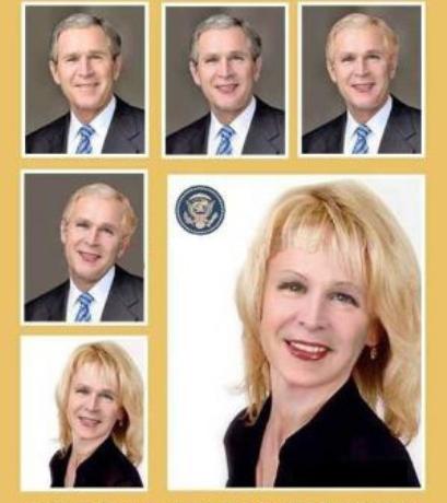 اگر بوش یک زن بود چه شکلی داشت