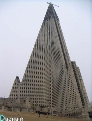 عکس هایی از بزرگترین و بی مصرف ترین هتل جهان