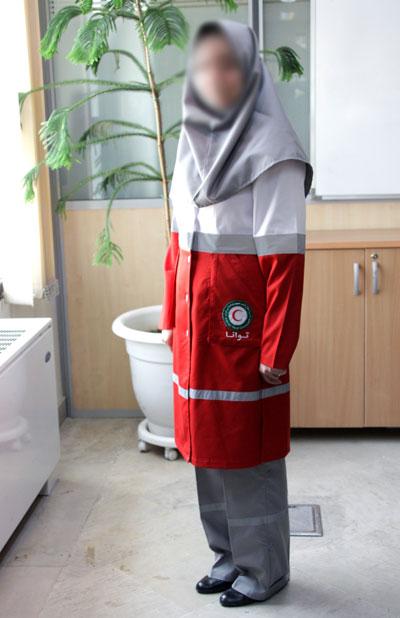 لباس جدید اسلامی برای امدادگران زن