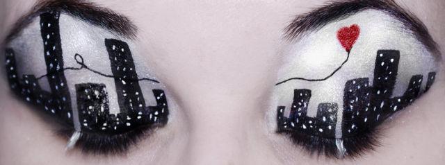 عکس هایی از آرایش بسیار دیدنی و متفاوت چشم ها
