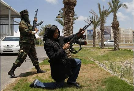 عکس های دیدنی از دختران فارغ التحصیل دانشگاه قذافی