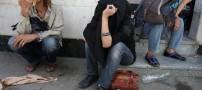 دستگیری مردی زن نما در تهران