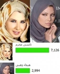 کدام از این دو زن هالیوود با حجاب زیباترند