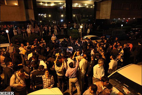 گزارشی تصویری از جمع آوری اراذل و اوباش پایتخت