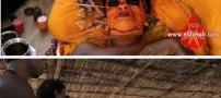 عکس هایی از آرایش عجیب زنان و مردان هند