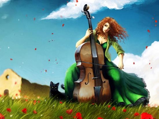 عکس هایی بسیار زیبا و فانتزی با موضوع موسیقی