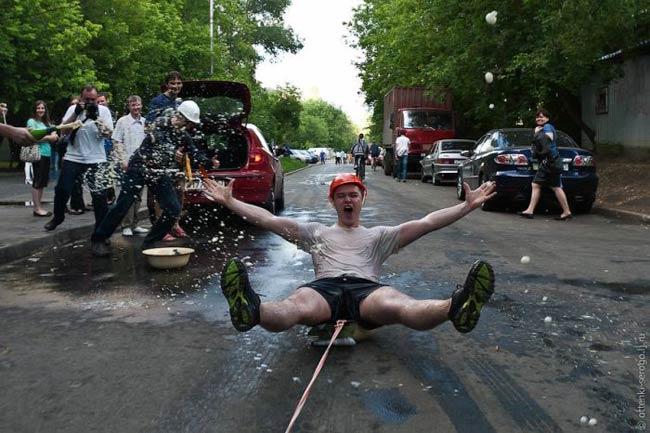 عکس هایی از خنده دارترین جشن فارغ التحصیلی دنیا