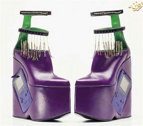عجیب ترین و خنده دارترین مدل های کفش در دنیا