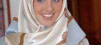 مسلمان شدن مانکن زیبا و معروف فرانسوی +عکس