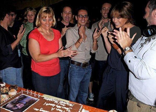 عکس هایی بسیار دیدنی از جشن تولد جنیفر لوپز