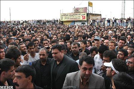 عکس هایی از مراسم خاکسپاری روح الله داداشی ، www.irannaz.com