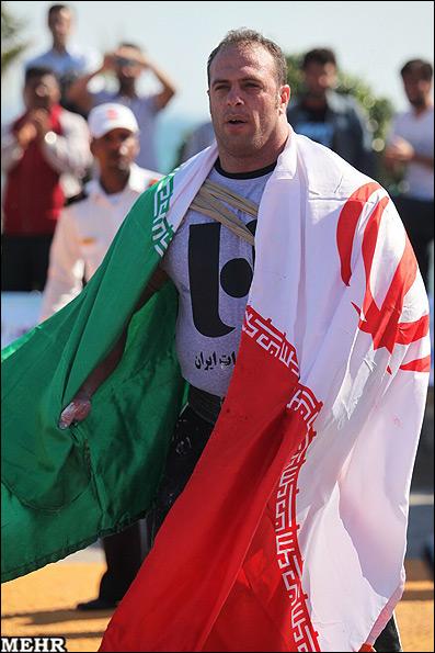 عکس هایی از روح الله داداشی در رقابت های مختلف