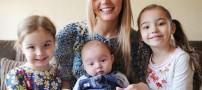 عجیب ترین مادر جهان به همراه سه دخترش +عکس