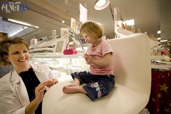 عکس هایی بسیار جالب از عجیب ترین دختر جهان !!