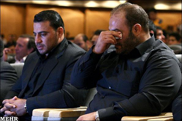 عکس هایی از مراسم ترحیم مرحوم روح الله داداشی
