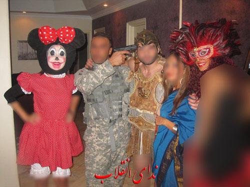 عکس های تکان دهنده از یک محفل شیطانی در تهران