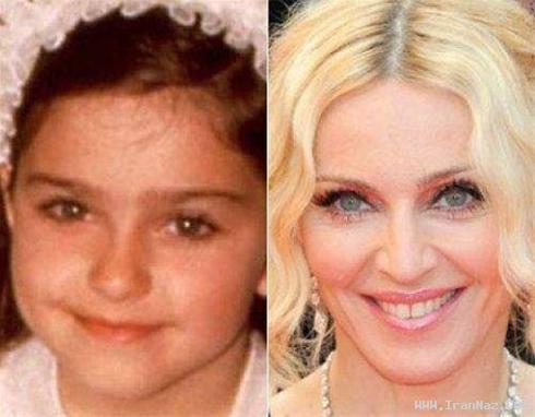 عکس هایی دیدنی از کودکی بازیگران معروف هالیوود