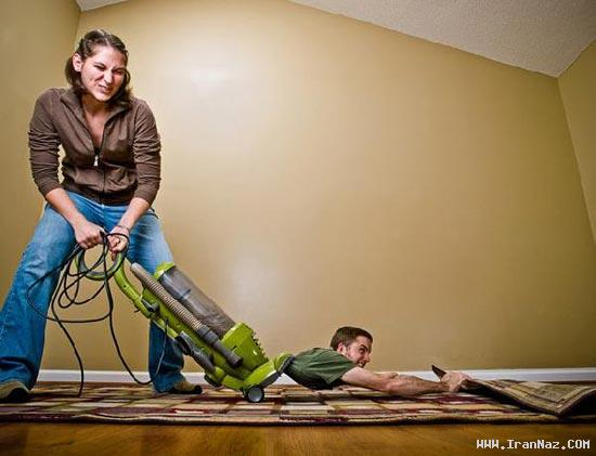 عکس های جالب و بسیار خنده دار از زندگی زناشویی